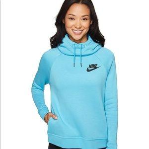 Nike Rally funnelneck hoodie pullover sweatshirt M